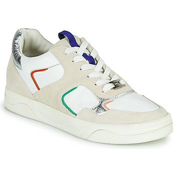 Schuhe Damen Sneaker Low Mam'Zelle ARTIX Weiß / Bunt