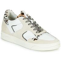 Schuhe Damen Sneaker Low Mam'Zelle ARTIX Weiß