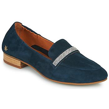 Schuhe Damen Slipper Mam'Zelle ZAVON Blau