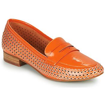 Schuhe Damen Slipper Mam'Zelle ZIP Orange
