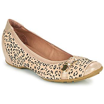 Schuhe Damen Ballerinas Mam'Zelle FABRI Beige