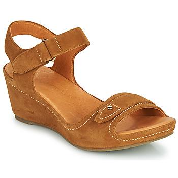 Schuhe Damen Sandalen / Sandaletten Mam'Zelle DARDA Kognac