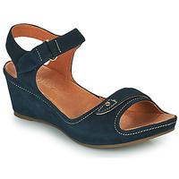Schuhe Damen Sandalen / Sandaletten Mam'Zelle DARDA Blau