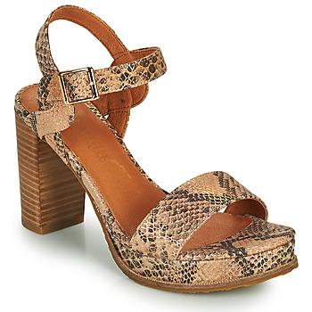 Schuhe Damen Sandalen / Sandaletten Mam'Zelle JAIN Beige
