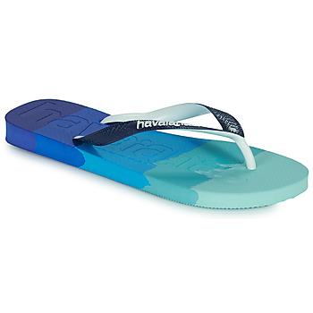 Chaussures Tongs Havaianas TOP LOGOMANIA MULTICOLOR