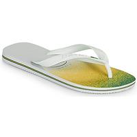 Schuhe Zehensandalen Havaianas BRASIL FRESH Weiß