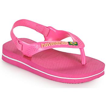 Schuhe Mädchen Zehensandalen Havaianas BABY BRASIL LOGO II