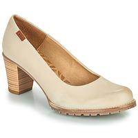Schuhe Damen Pumps MTNG 51078 Beige