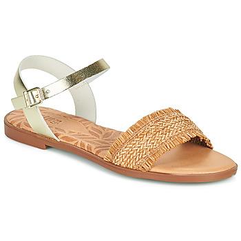Schuhe Damen Sandalen / Sandaletten MTNG 51010 Braun,