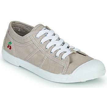 Schuhe Damen Sneaker Low Le Temps des Cerises BASIC LACE Beige