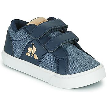 Schuhe Kinder Sneaker Low Le Coq Sportif VERDON CLASSIC INF Blau