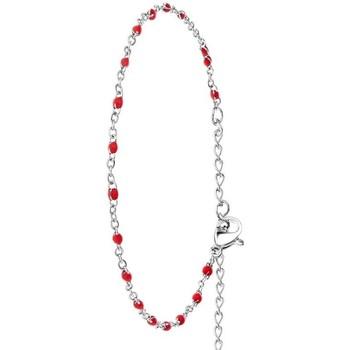 Montres & Bijoux Femme Bracelets Sc Crystal B2381-ROUGE Argenté
