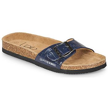 Schuhe Damen Pantoffel Les Petites Bombes ROSA Blau