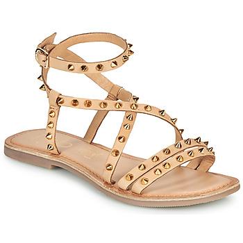 Schuhe Damen Sandalen / Sandaletten Les Petites Bombes BEATA Beige