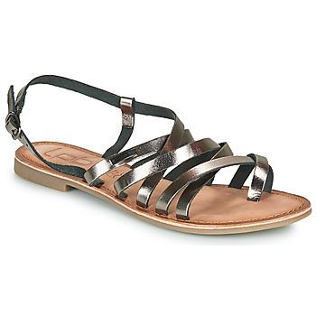 Schuhe Damen Sandalen / Sandaletten Les Petites Bombes BRENDA Grau