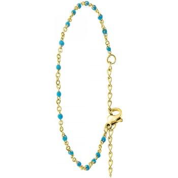 Montres & Bijoux Femme Bracelets Sc Crystal B2395-BLEU Doré