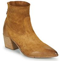 Schuhe Damen Low Boots Moma OSTUNI Braun,
