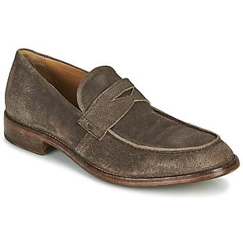 Schuhe Herren Slipper Moma NOTTINGHAM Braun,