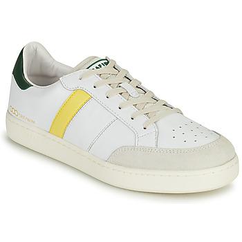 Schuhe Herren Sneaker Low Serafini WIMBLEDON Weiß / Gelb