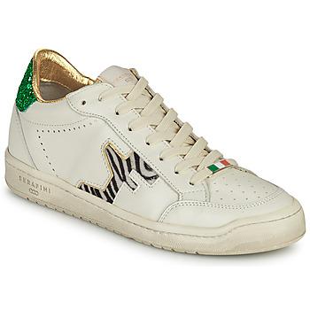 Schuhe Damen Sneaker Low Serafini SAN DIEGO Weiß