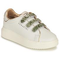Schuhe Damen Sneaker Low Serafini CONNORS Weiß / Golden