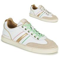 Schuhe Damen Sneaker Low Serafini COURT Weiß / Golden
