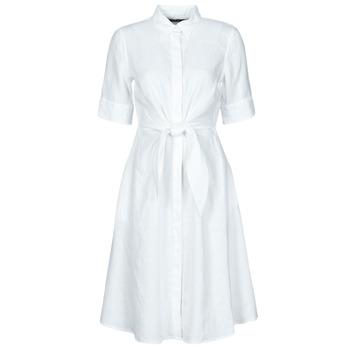 Kleidung Damen Kurze Kleider Lauren Ralph Lauren WAKANA Weiß