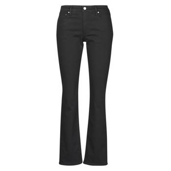 Vêtements Femme Jeans droit Lauren Ralph Lauren MIDRISE STRT-5-POCKET-DENIM