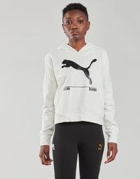 Kleidung Damen Sweatshirts Puma NUTILITY HOODY Weiß