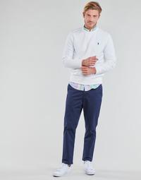 Kleidung Herren 5-Pocket-Hosen Polo Ralph Lauren PANTALON CHINO PREPSTER AJUSTABLE ELASTIQUE AVEC CORDON INTERIEU Marineblau
