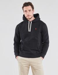 Vêtements Homme Sweats Polo Ralph Lauren SWEAT A CAPUCHE MOLTONE EN COTON LOGO PONY PLAYER