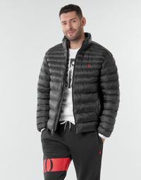 Vêtements Homme Doudounes Polo Ralph Lauren BLOUSON DOUDOUNE EARTH POLO EN NYLON RECYCLE ET PRIMALOFT LOGO P