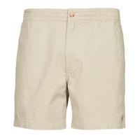 Kleidung Herren Shorts / Bermudas Polo Ralph Lauren SHORT PREPSTER AJUSTABLE ELASTIQUE AVEC CORDON INTERIEUR LOGO PO Beige