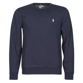 Vêtements Homme Sweats Polo Ralph Lauren SWEATSHIRT COL ROND EN JOGGING DOUBLE KNIT TECH LOGO PONY PLAYER