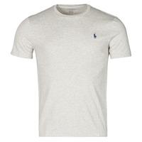 Vêtements Homme T-shirts manches courtes Polo Ralph Lauren T-SHIRT AJUSTE COL ROND EN COTON LOGO PONY PLAYER