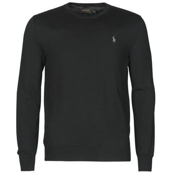 Kleidung Herren Pullover Polo Ralph Lauren PULL COL ROND AJUSTE EN COTON PIMA LOGO PONY PLAYER