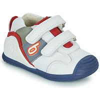 Schuhe Jungen Sneaker Low Biomecanics 202148 Weiß / Blau / Rot