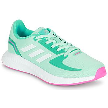 Schuhe Mädchen Sneaker Low adidas Performance RUNFALCON 2.0 K Blau