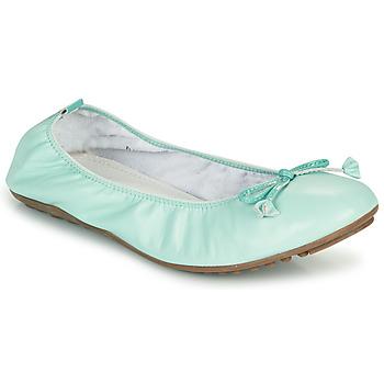 Schuhe Damen Ballerinas Mac Douglas ELIANE Blau