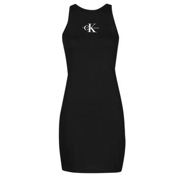 Vêtements Femme Robes courtes Calvin Klein Jeans MONOGRAM TANK DRESS