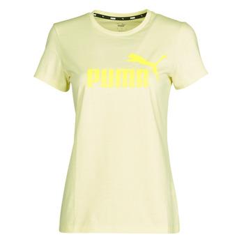 Vêtements Femme T-shirts manches courtes Puma ESS Logo Tee (s)