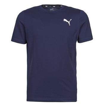 Kleidung Herren T-Shirts Puma ESS TEE Marineblau