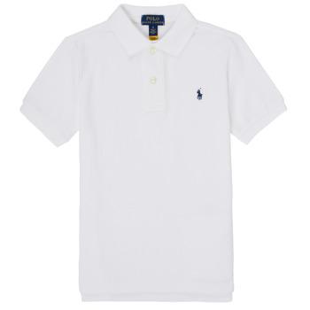 Kleidung Jungen Polohemden Polo Ralph Lauren TUSSA Weiß