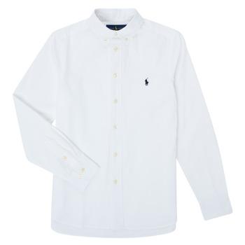 Vêtements Garçon Chemises manches longues Polo Ralph Lauren CAMIZA