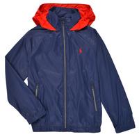 Kleidung Jungen Jacken Polo Ralph Lauren BRINNA Marineblau