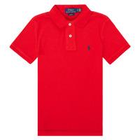 Kleidung Jungen Polohemden Polo Ralph Lauren FRANCHI Rot