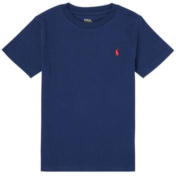 Vêtements Garçon T-shirts manches courtes Polo Ralph Lauren TINNA