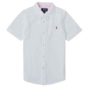 Vêtements Garçon Chemises manches courtes Polo Ralph Lauren CAMISSA