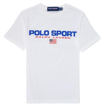 Abbigliamento Bambino T-shirt maniche corte Polo Ralph Lauren DRONI