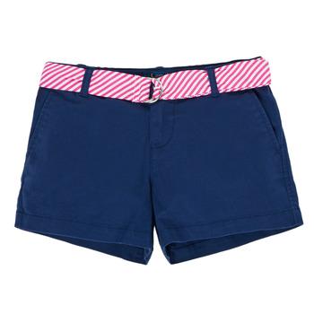 Kleidung Mädchen Shorts / Bermudas Polo Ralph Lauren FILLI Marineblau